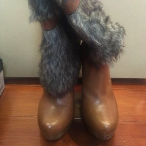 Bebe leather boot